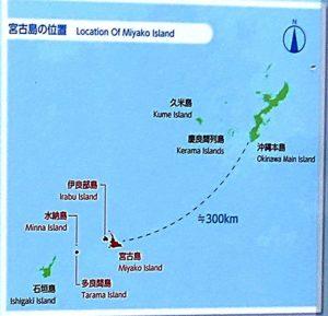 宮古島の地図