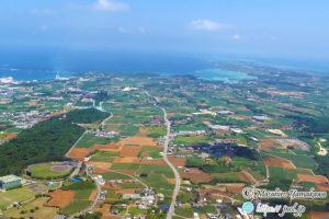 宮古島の地形を航空写真で見る