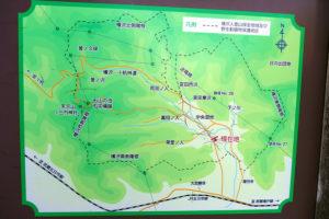 横沢入の地図、行き方