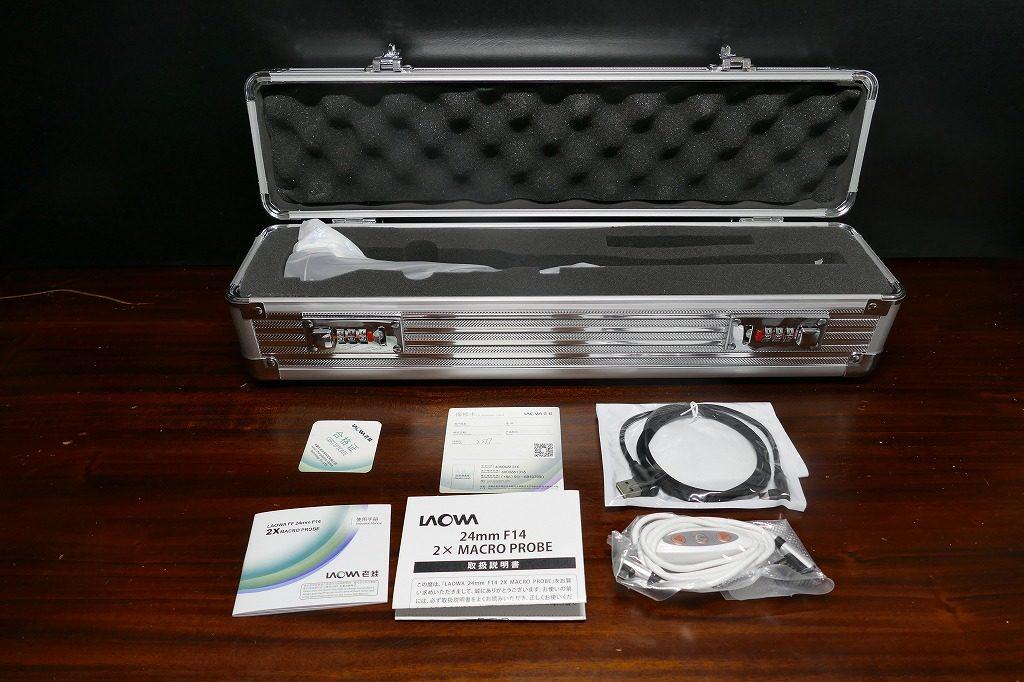 LAOWA 24mm F14 2× MACRO PROBE