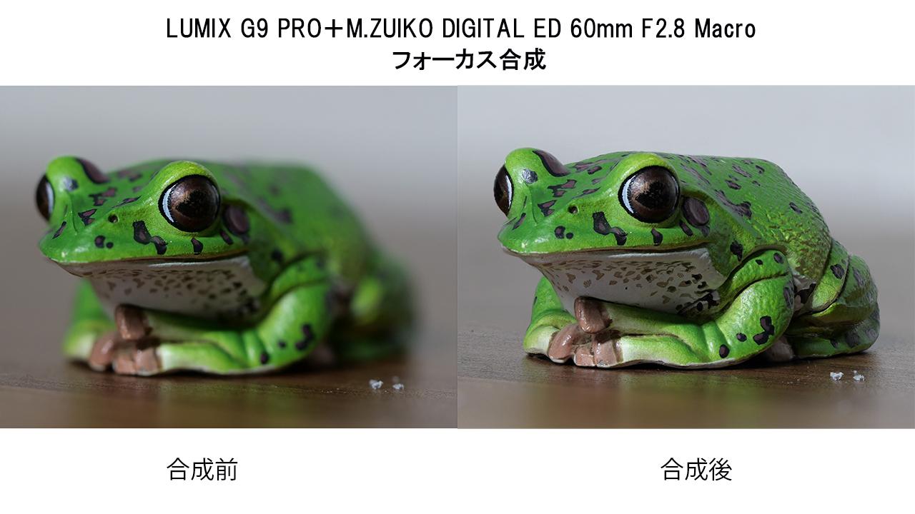 フォーカス合成 LUMIX G9pro